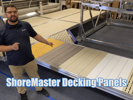 Decking Panel Options | ShoreMaster Docks
