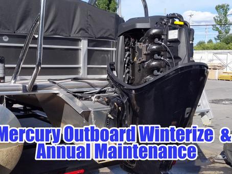 Mercury Annual Maintenance & Winterization