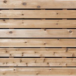 Cedar Wooden Panels
