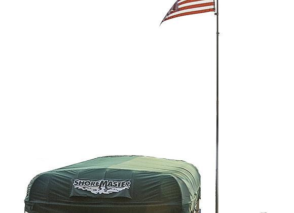 20' Aluminum Telescoping Flagpole w/ American Flag $637