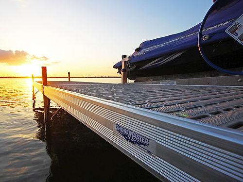 removable aluminum dock