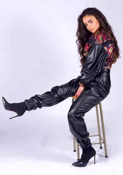 'ADELE' Leather pants