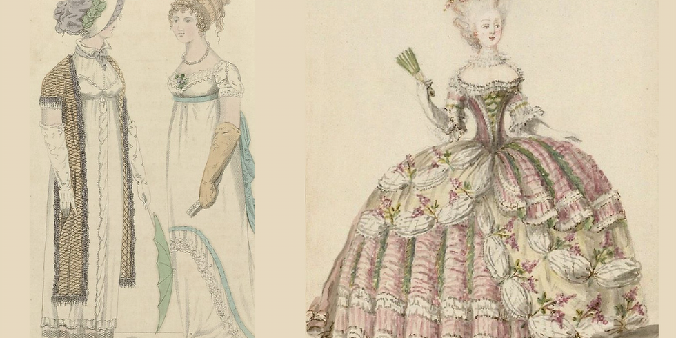 Staging Movement in Restoration & Regency Costume: fights, intimacy & characterisation