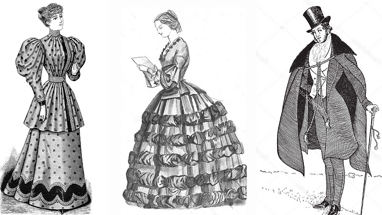 Staging Movement in Victorian & Edwardian Costume: fights, intimacy & characterisation (1)