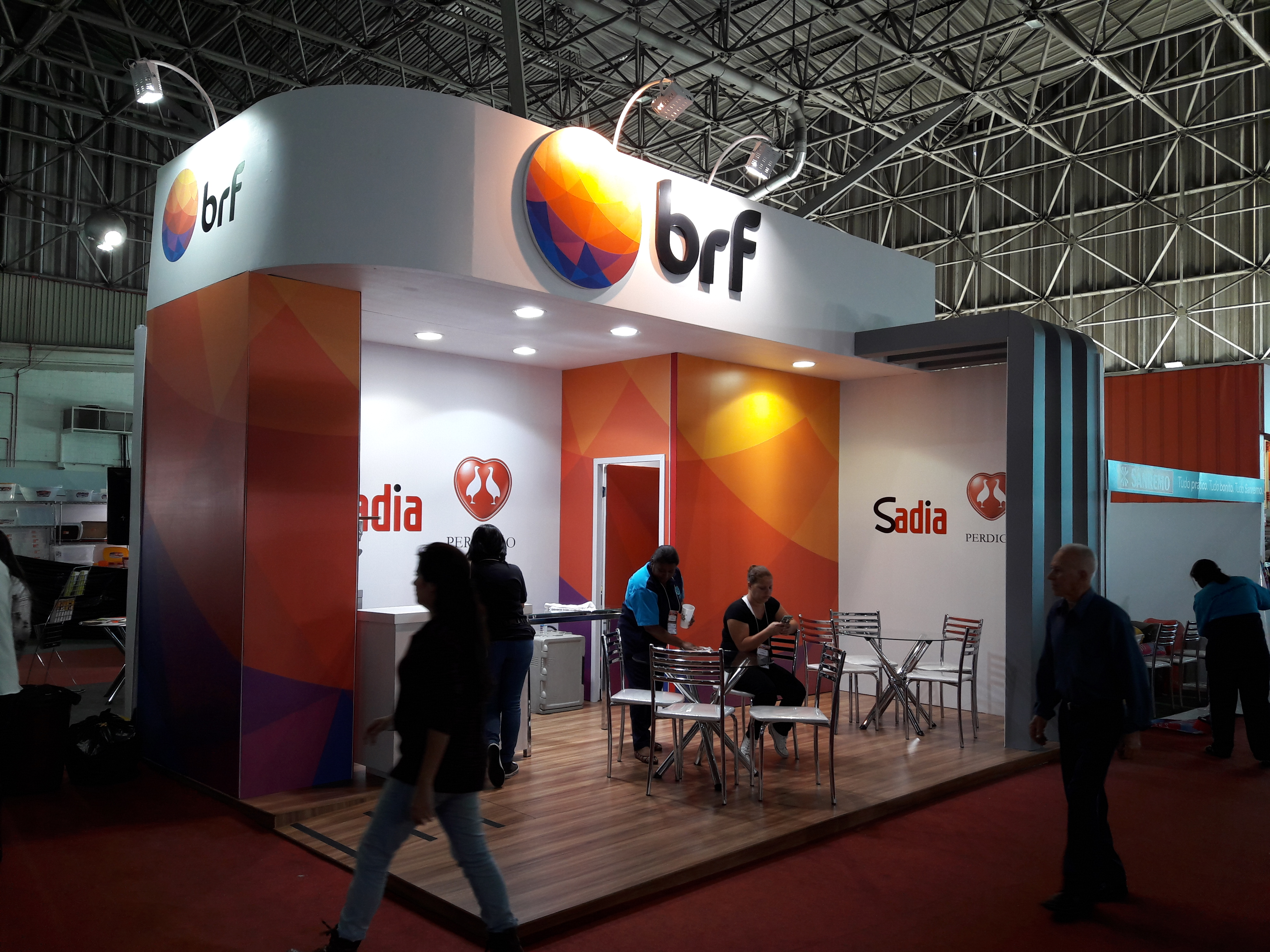 Stand BRF evento