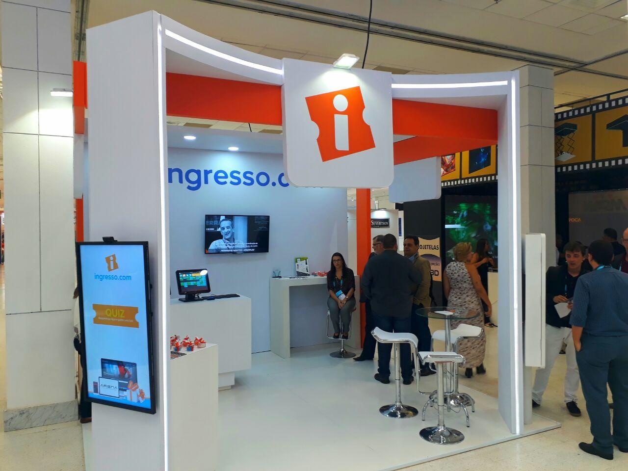 Montagem Ingresso.com - expo
