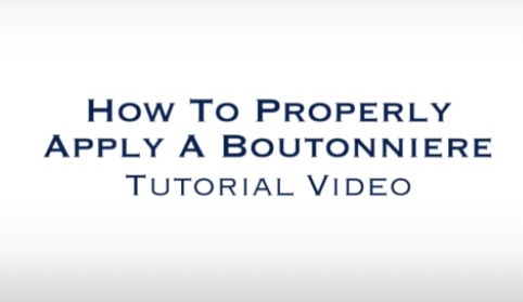 How to Properly Apply a Boutonniere