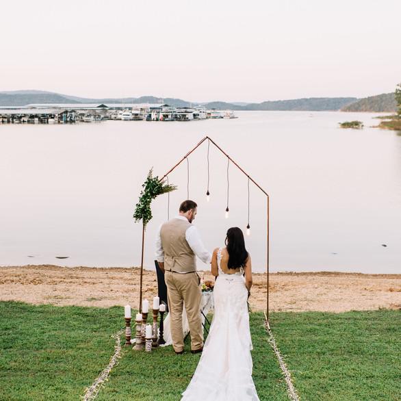 Elopement Styled Shoot | Beaver Lake | Justin Palmer