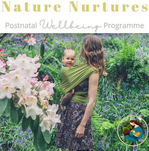 Nature Nurtures Wellbeing Programme