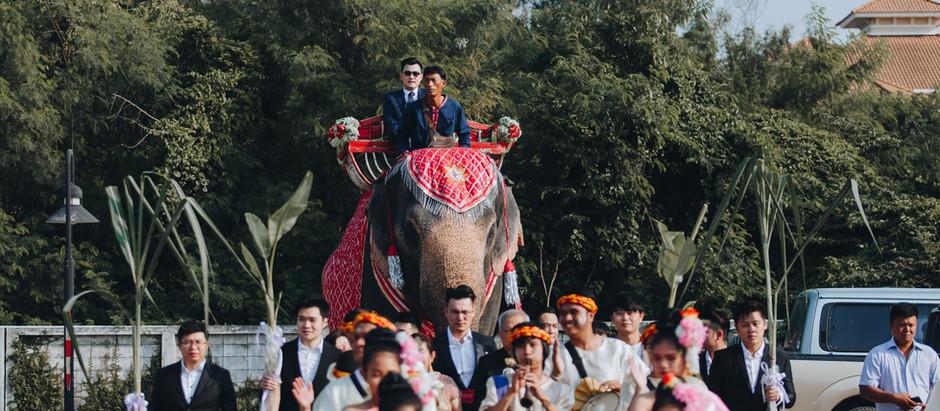 Modern Thai Traditional Wedding