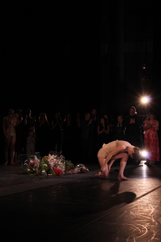 Julia Erickson takes her final bow
