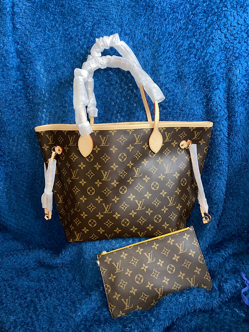 Neverfull Mimosa MM With Pochette