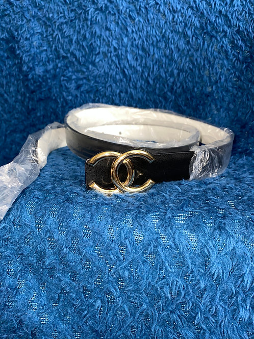 Reversible Chanel Belt 100cm