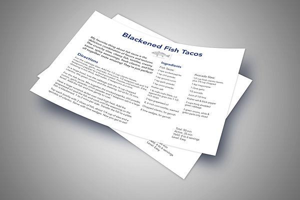 Final Blacken Fish Taco Comp REcipe card