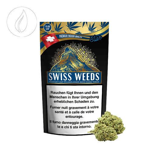 PURE EUROPE SWISS WEEDS BLUE, INDOOR, 2GR