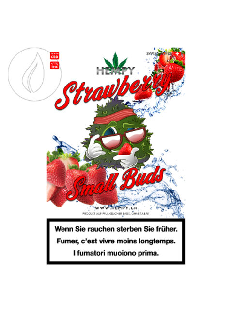 Hempy, Strawberry, Indoor, Small Buds, 25gr