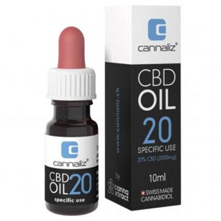 Cannaliz, CBD OIL, 20% 10 ml