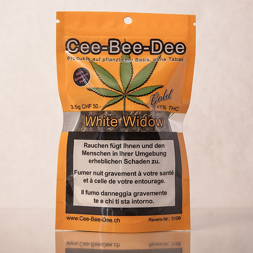 CEE BEE DEE WHITE WIDOW 3.5GR