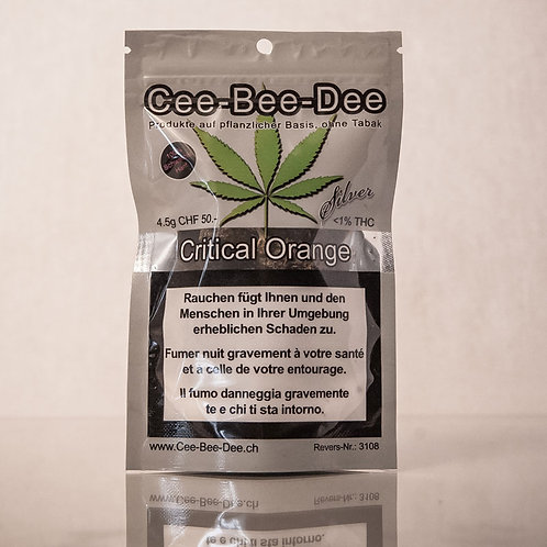 CEE BEE DEE CRITICAL ORANGE 4.5GR