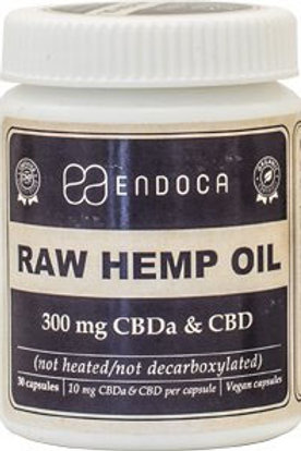 Raw Hemp Oil Kapseln 300mg CBD+CBDa