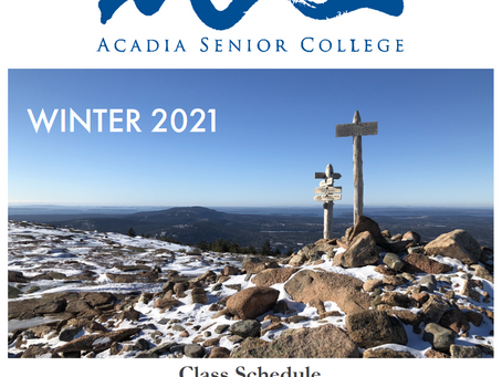Winter Courses Available at Acadia Senior College