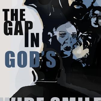 Blue Poster for God's Wide Smile