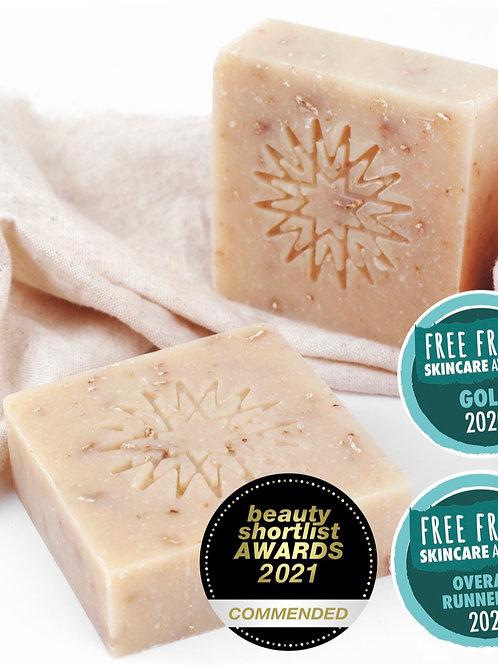 【預訂中-8月中到貨】燕麥豆奶保濕滋潤潔膚皀 Oat & Soya Milk Soap