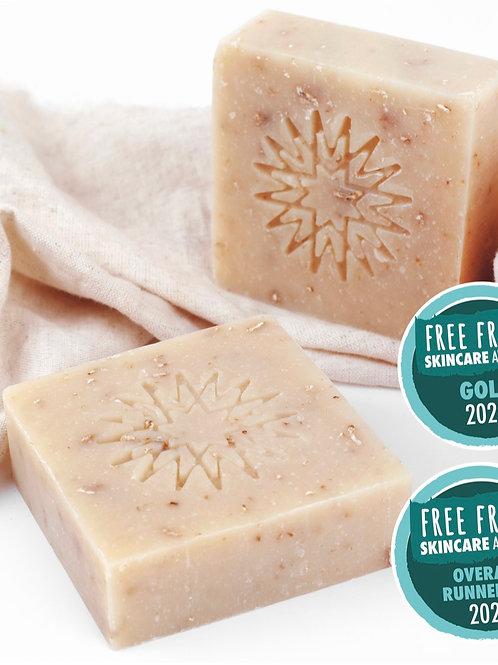 燕麥豆奶保濕滋潤潔膚皀 Oat & Soya Milk Soap