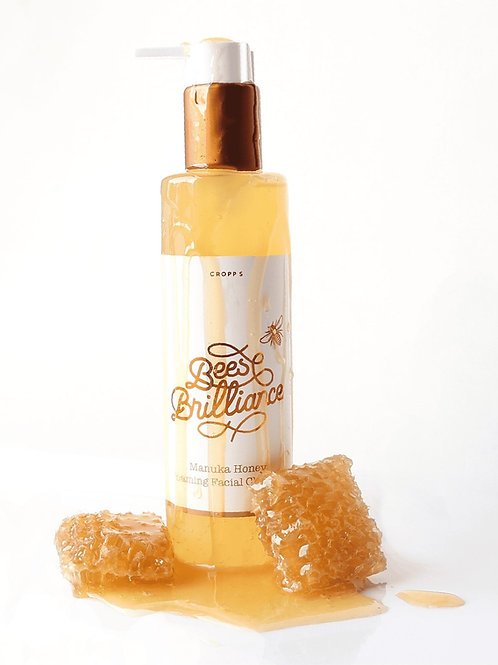 麥盧卡蜂蜜泡泡潔面凝膠 Manuka Honey Foaming Facial Cleanser