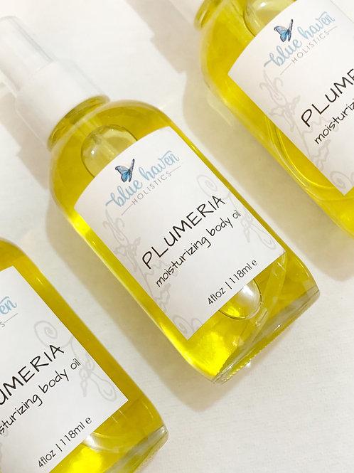 雞蛋花輕薄保濕身體油 Plumeria Moisturizing Body Oil