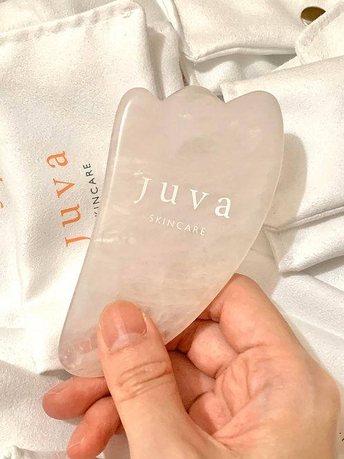 粉晶面部提升刮痧板 Juva Rose Quartz Guasha