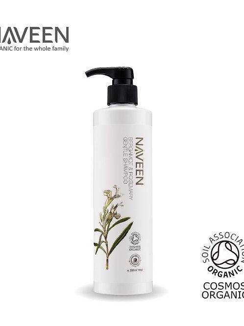 有機佛手柑迷迭香豐盈洗髮露 Bergamot & Rosemary Shampoo 350ml
