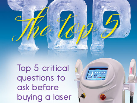 Top 5 critical questions to ask before buying a beauty laser