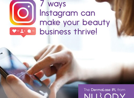 7 ways Instagram can make your beauty business thrive!