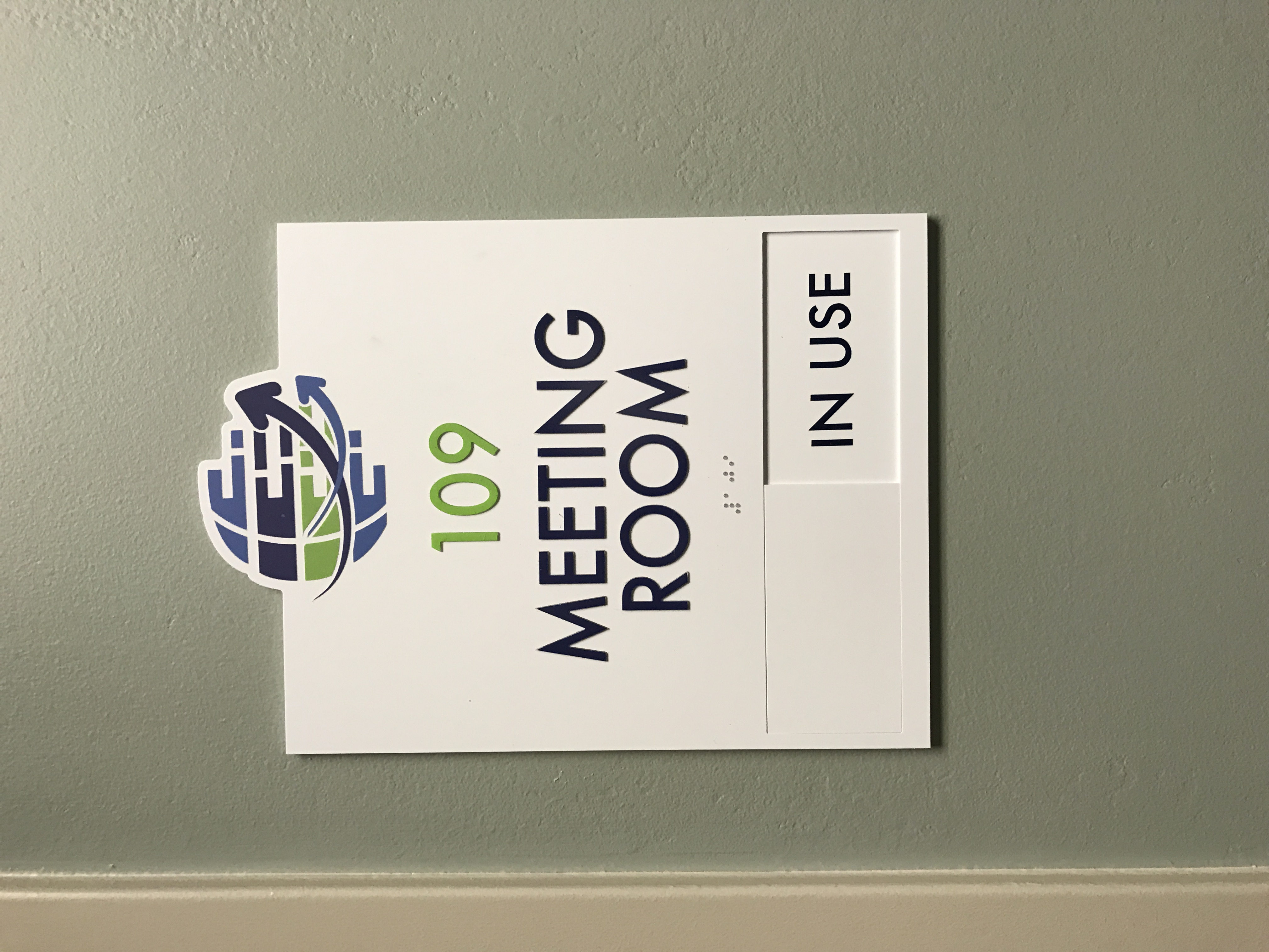 ADA Meeting Room Sign