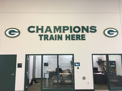 Green Bay Packers Weight Room