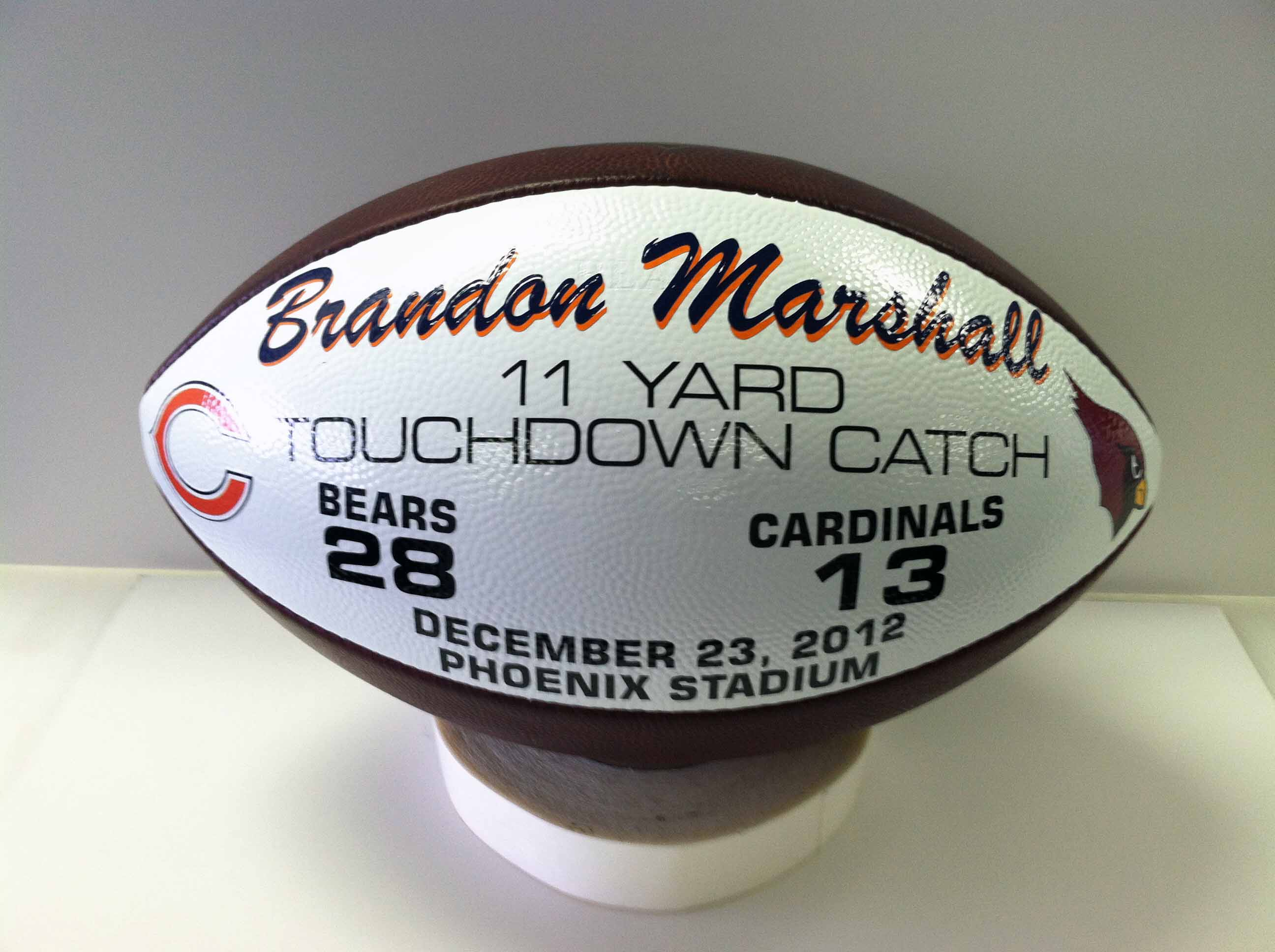 BRANDON MARSHALL Game Ball