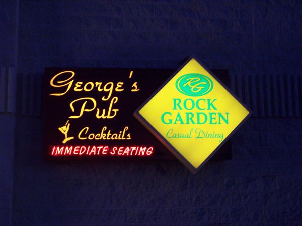George's Pub/Rock Garden