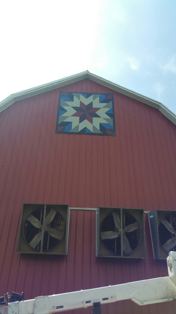 barn quilt sign