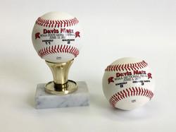 customized baseball