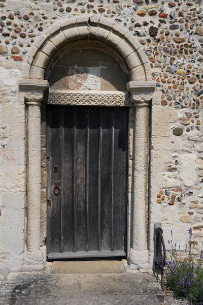 Hauxton south door.JPG