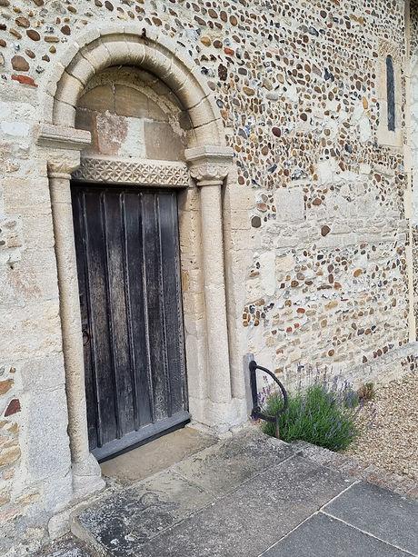 Hauxton door