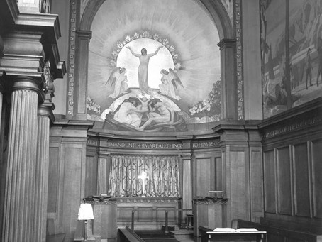 1931: The Chapel decorations