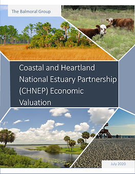 Coastal and Heartland National Estuary Partnership (CHNEP) Economic Valuation Report Cover