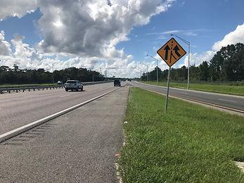 I-495 and I-66 Interchange on highway