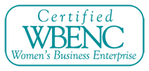 Certified WBENC - Women's Business Enterprise logo