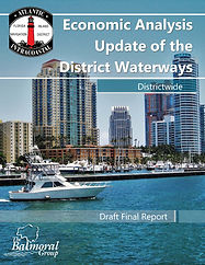 Economic Analysis Update of the District Waterways - Final Report Cover