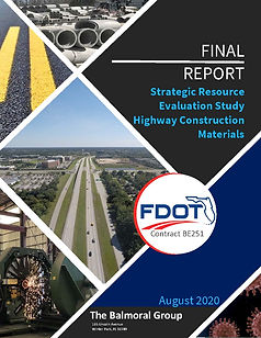 Final Report - Strategic Resource Evaluation Study Highway Construction Materials Report Cover