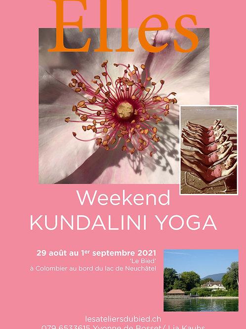 ELLES Kundalini Yoga Retreat 29.09.- 01.08.