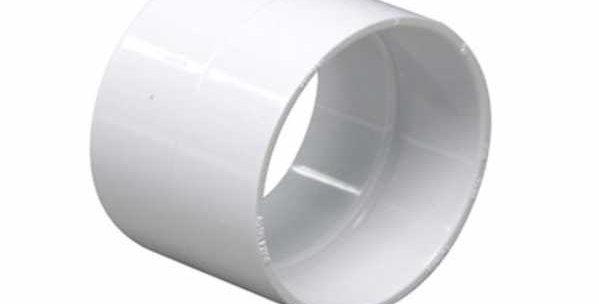 Bague Union ff pvc blanc avec arrêt pour tuyaux diamètre 51 mm centralisation dr
